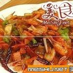 泡菜爆河虾