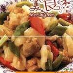 炒蔥椒雞的做法