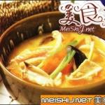 戏萝卜煮鸡脆骨