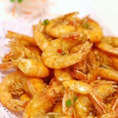 椒盐爆中虾的做法