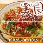 金蒜银鱼蒸菜心