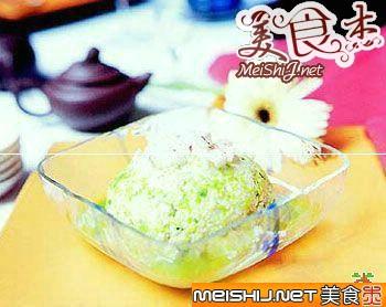 香葱老豆腐的做法-香葱老豆腐