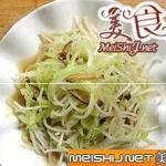 椒油笋丝掐菜的做法
