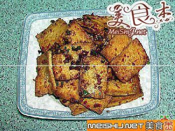 干煎老豆腐的做法-干煎老豆腐
