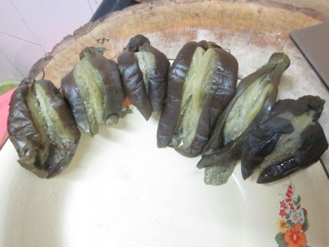 【图】腌蒜做法_腌蒜视频的茄子,做,茄子胸湿图片