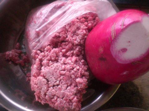 牛肉萝卜馅饺子的做法