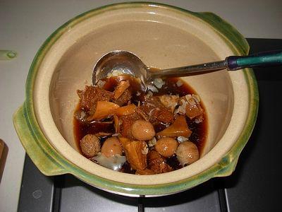 白菜牛腩煲的做法