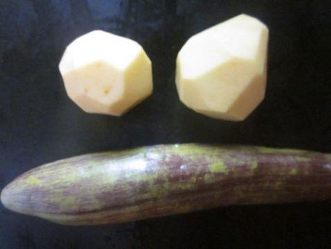 炒茄子土豆丝的做法