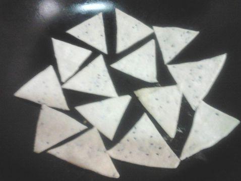 三角形卡通饼干图片卡通三角形简笔画三角形饼干图片