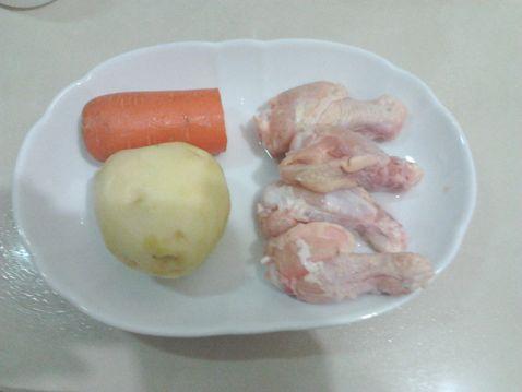 土豆香菇炒鸡翅根的做法【步骤图】