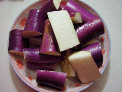 香煎豆瓣茄子的做法【步骤图】_菜谱_美食杰