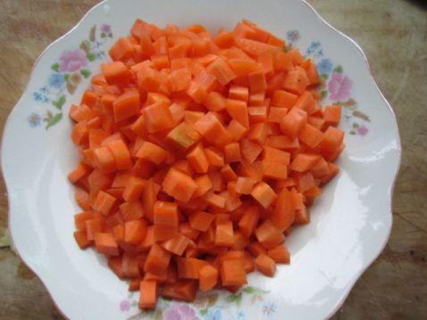 炒胡萝卜酱的做法