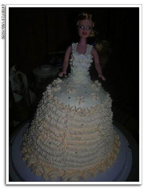 奶油芭比娃娃的做法
