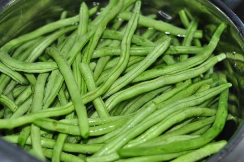 干肠炒架豆的家常_架豆干肠炒美食的图吧【做法做法塘沽图片