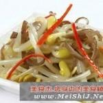 黄豆芽拌海带的做法