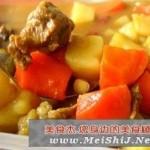 炖咖喱牛肉