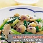 蚕豆瓣炒韭菜