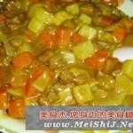 咖喱牛肉什锦饭