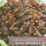 肉末烧海参的做法