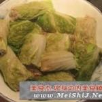 扒白菜卷的做法