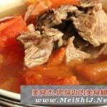 番茄焖牛肉