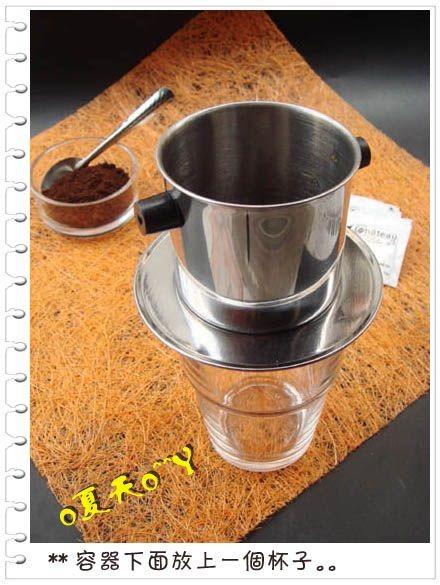 冲泡越南滴漏咖啡步骤图解
