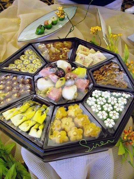 韩国松饼展示