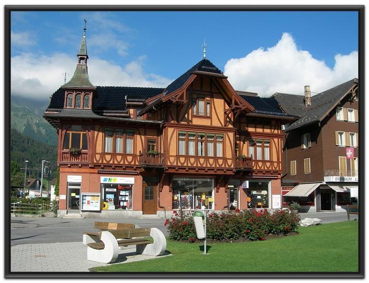 瑞士小镇别墅图片大全