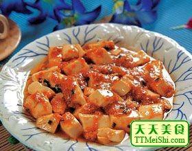 虾籽烧豆腐的做法【步骤