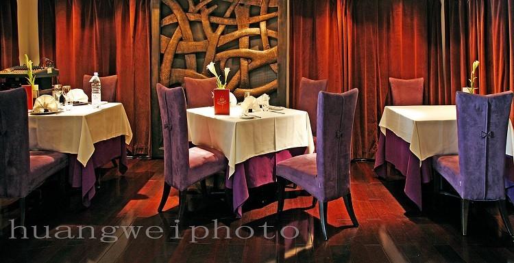 第6幅 塞纳河法国餐厅高清图片