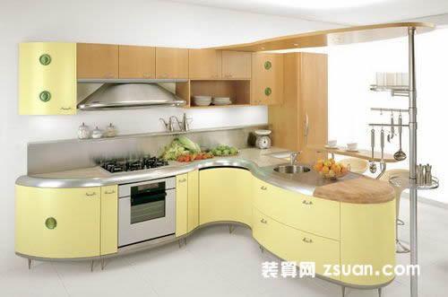 复式中式厨房装修设计图