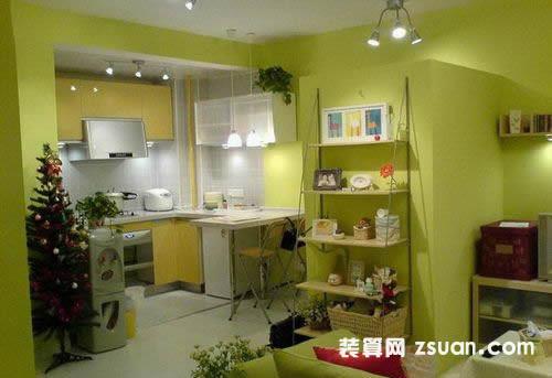 小户型厨房装修图片餐台
