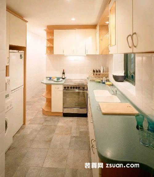 现代港式厨房效果图橱柜_厨房装修_厨房装饰