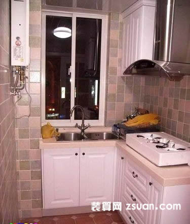欧式厨房效果图橱柜