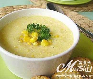 玉米牛奶浓汤 :营养不良治疗的饮食 - 为谁向天乞怜哀 - 一梦千寻 的博客