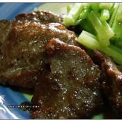 黑胡椒煎小牛肉