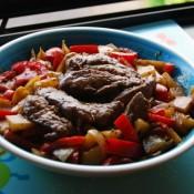 芒果黑椒牛肉