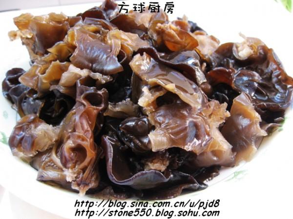 芥末油拌木耳_芥末油拌木耳的做法芥末油拌木耳怎么做好吃