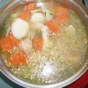 胡萝卜山药鸡汤