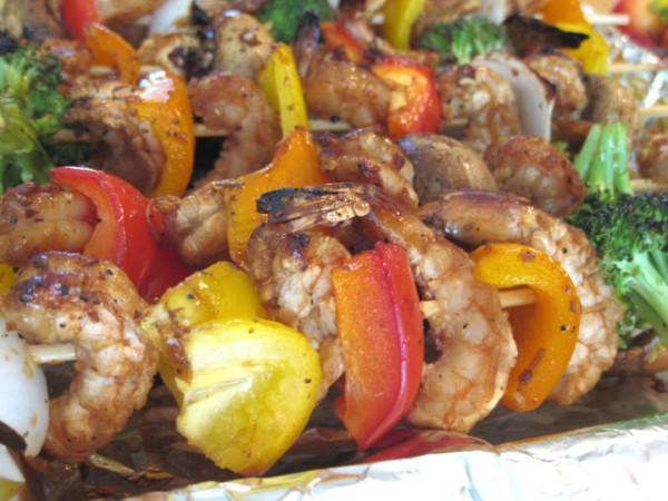 烤虾串的做法 菜谱