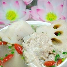 老罐煨棒骨排骨藕汤