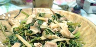 盐水野苋菜的做法