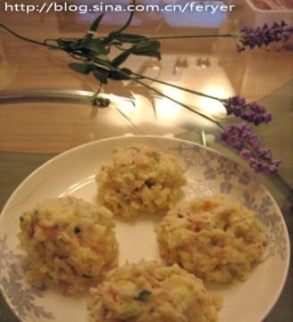金枪鱼土豆泥沙拉的做法