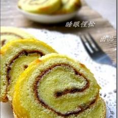 香橙蓝莓蛋糕卷