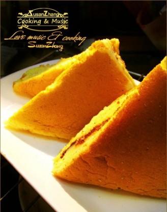 三角美乃兹夹心蛋糕
