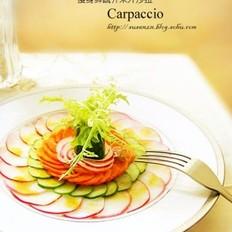 蔬菜芥末汁沙拉