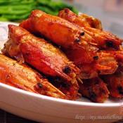 豉油王焗罗氏虾