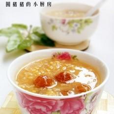 桂圆糙米舒眠粥