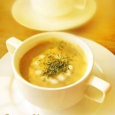 奶油鸡茸蘑菇浓汤