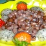 水果椰奶红豆爽
